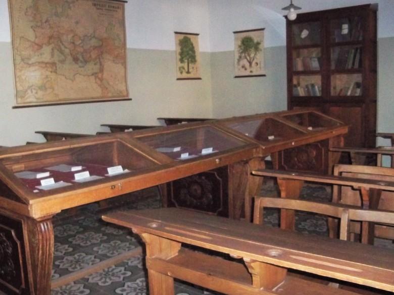 Aula donde impartió clases de Gramática francesa, el poeta sevillano Antonio Machado.