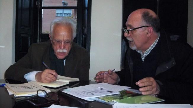 Nuestro presidente informa al Delegado del Distrito Sur de las demandas de nuestra asociación.