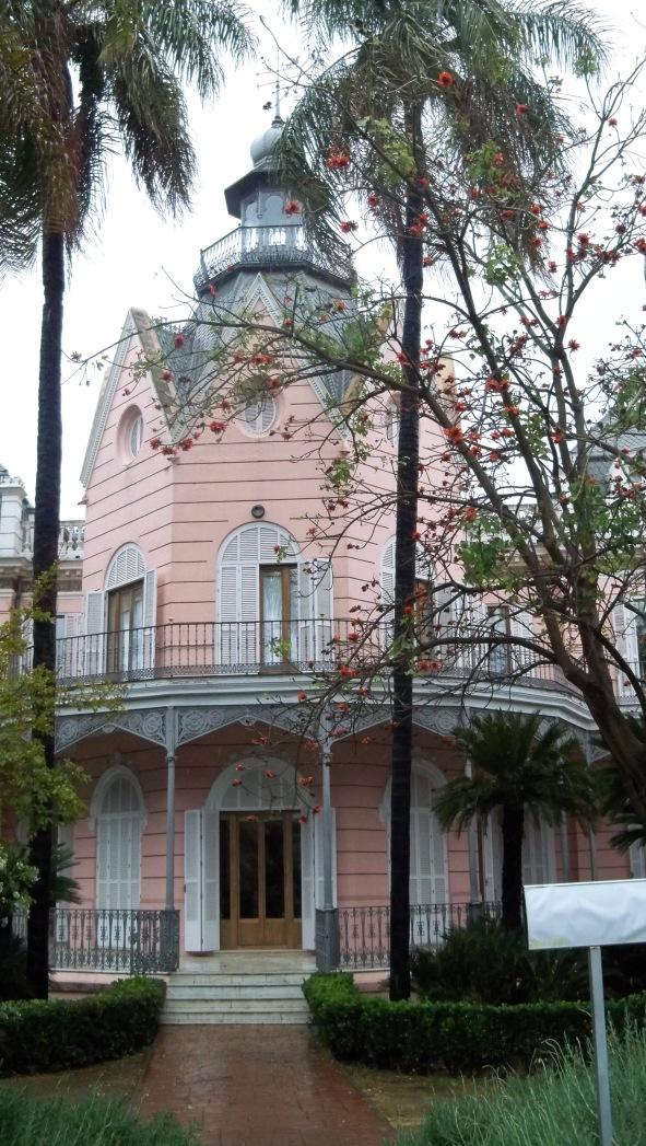 Casa Rosa, sede de la Consejería de Medio Ambiente