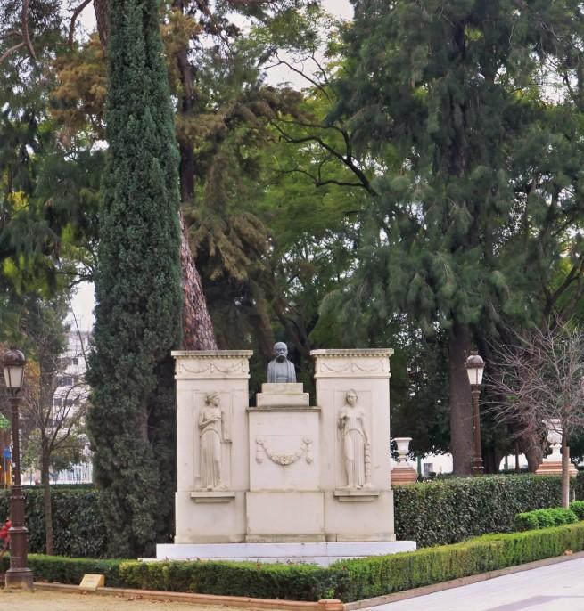 Monumento a Castelar en los Jardines de Cristina.