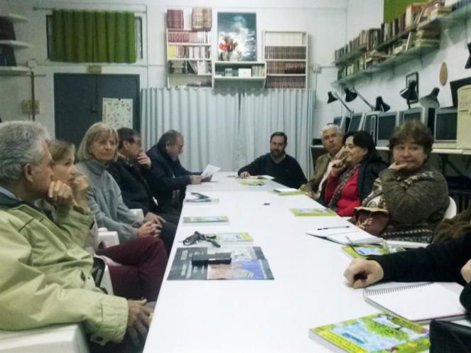 Reunión de la Plataforma; abril de 2016