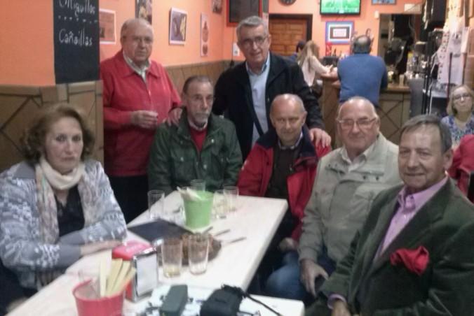 Reunión en El Miguelete donde se acordó, entre otras demandas, esta solicitud.