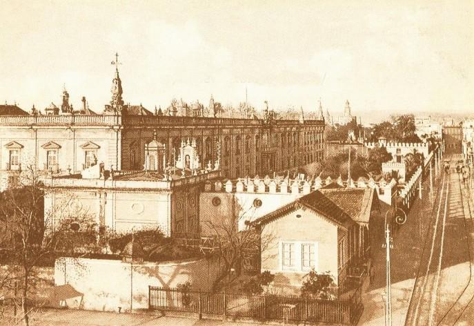 Fotografía de la Fábrica de Tabacos al principios del siglo XX