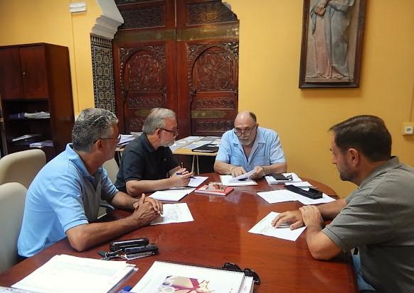 Reunión con Adolfo Fernández Palomares, Director General de Parques y Jardines del Ayuntamiento de Sevilla
