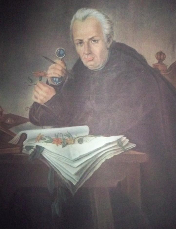José Celestino Mutis, estudiando la mutisia y el canelo.