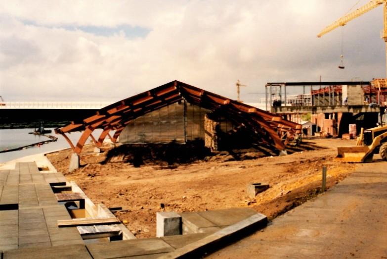 Construcción del Umbráculo...