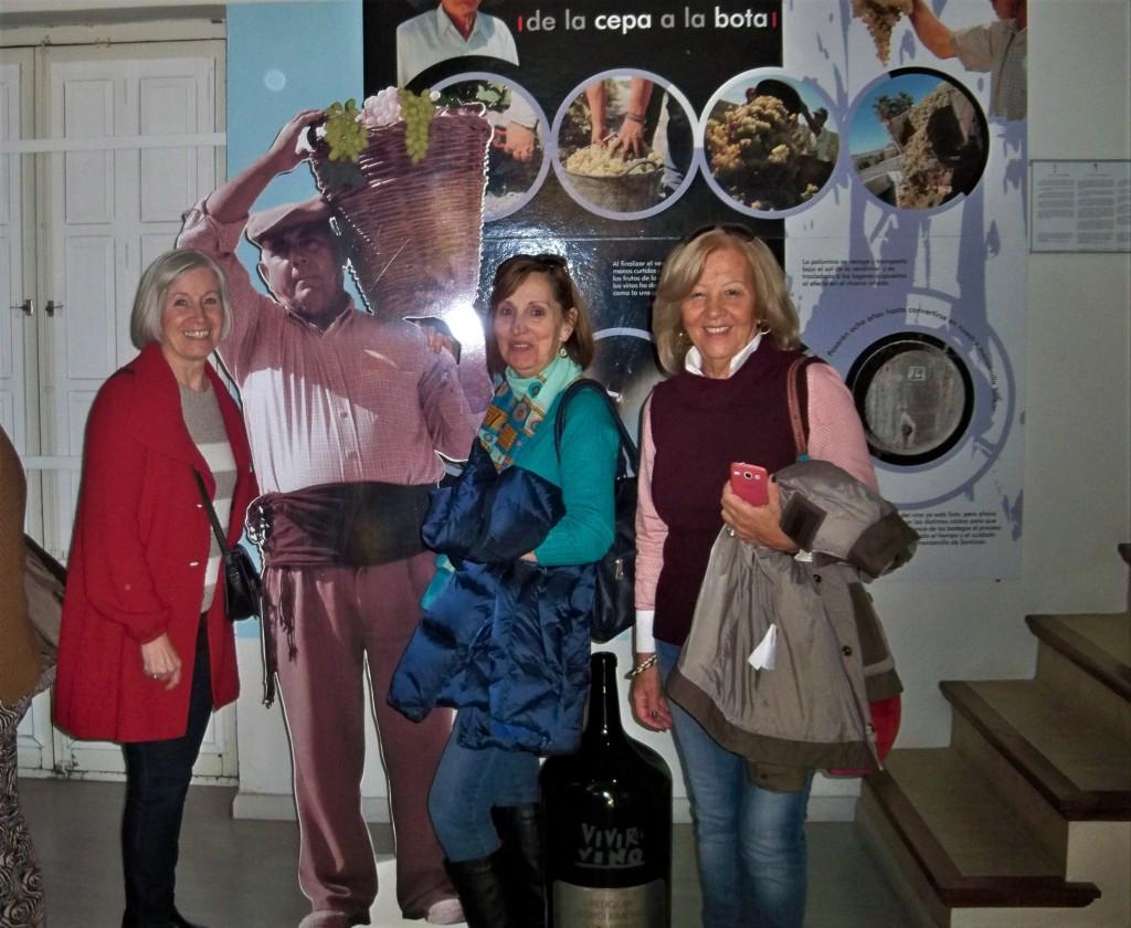 En el Museo de la Manzanilla.