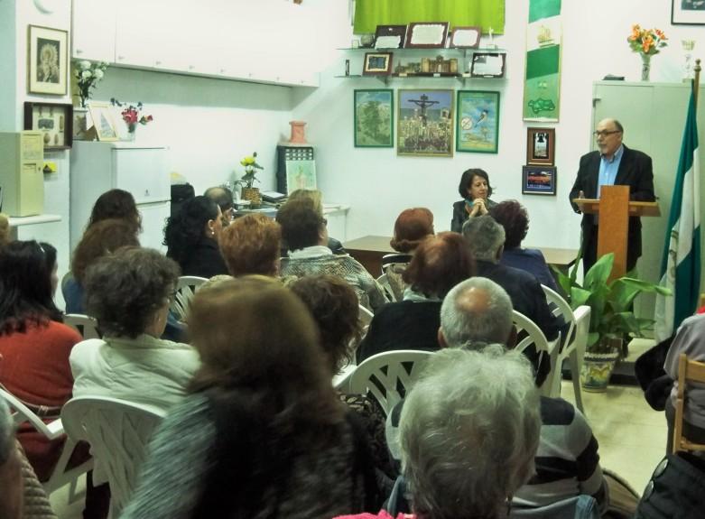 Saludo del presidente Jacinto Martínez a los asistentes