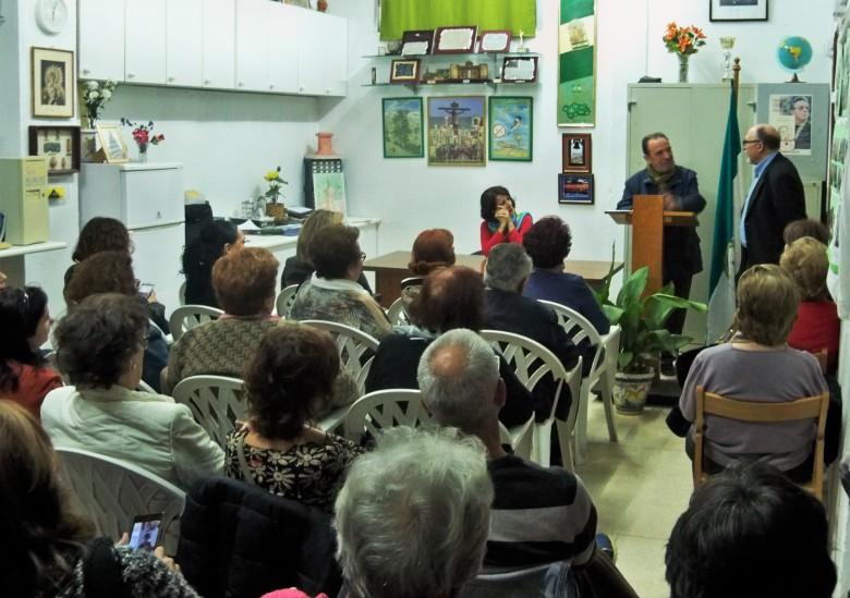 El sindicalista Eduardo Saborido, reflexiona en voz alta sobre la labor de su compañero Fernando Soto.