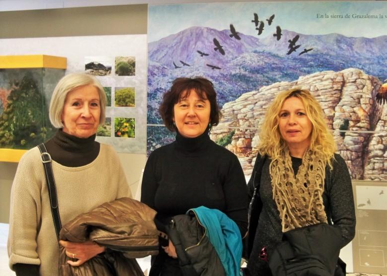 En el Centro de Visitantes de El Bosque.