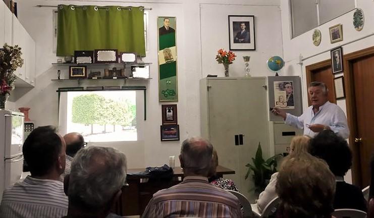 XXX Aniversario se nuestra asociación. Conferencia de José Elías Bonnels.