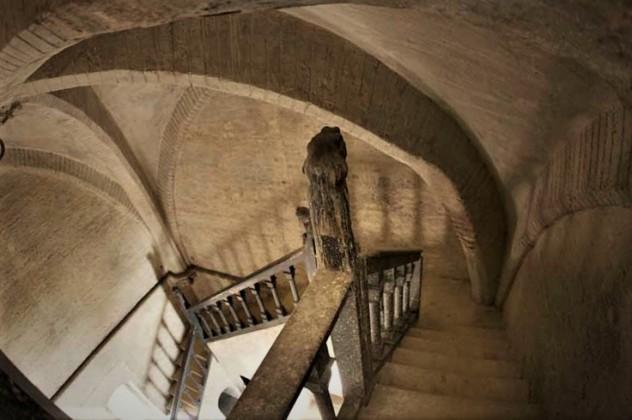 Interior de la torre