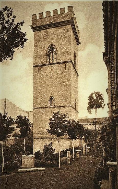 La torre don Fadrique en los años treita.