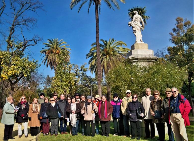 Visita a los Jardines de las Delicias (21/01/179
